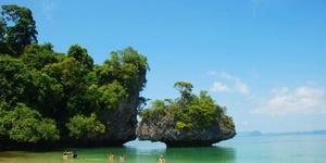 洪岛,泰国甲米最美丽的地方