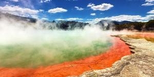 新西兰温泉头牌——地狱之门火山泥温泉