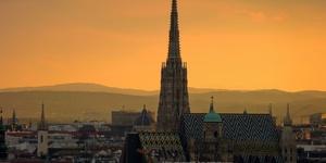 维也纳地标圣史蒂芬教堂