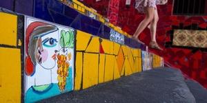 低头有惊喜——里约热内卢塞拉隆阶梯