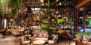 徜徉葱茏绿意中:曼谷 VIVARIUM BY CHEFS MINISTRY 温室餐厅
