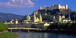 僧侣山上的萨尔斯堡城堡