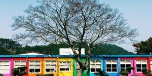 这里是韩国女生和情侣都爱的童话彩虹小学
