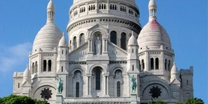 建筑之美——法国巴黎圣心大教堂
