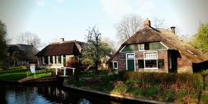 荷兰羊角村Giethoorn‧美景如画人间仙境